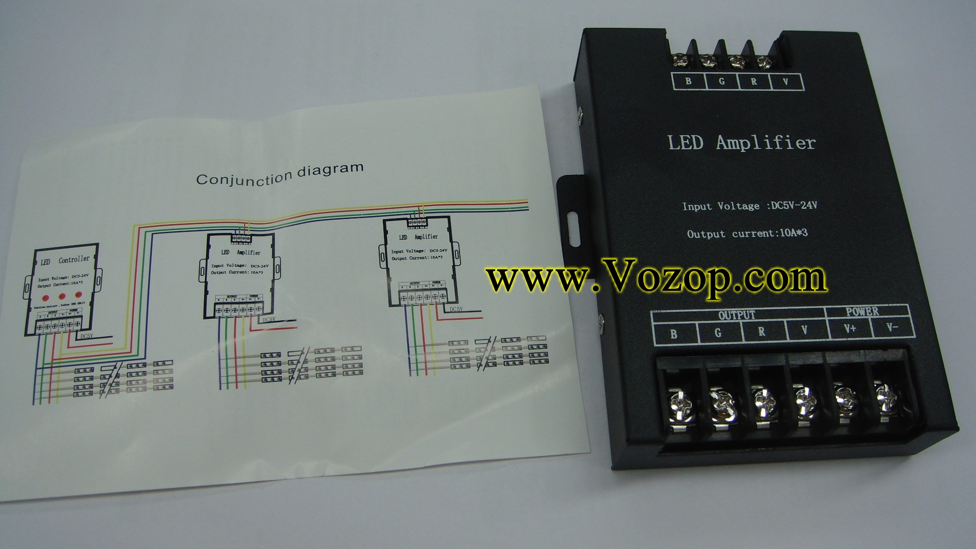 RGB_LED_Amplifier_10A_per_Ch