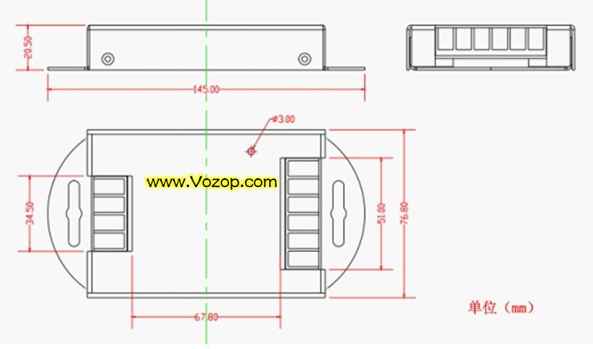 RGB_LED_Booster_High_Speed_Power_Amplifier_Large_Current_DC12V_DC_24V_lighting_project_1