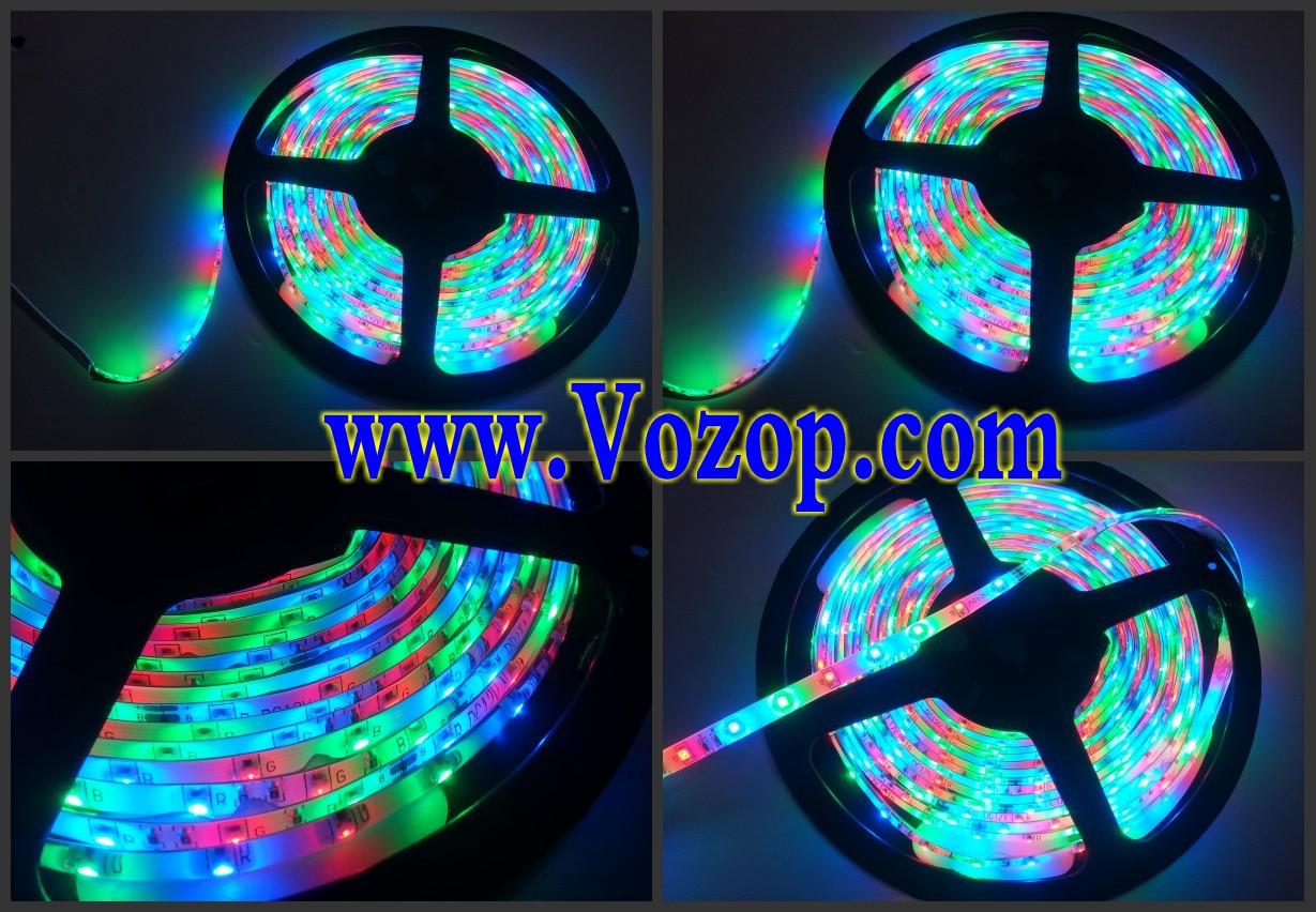 RGB_SMD_3528_LED_tape_Strip_5M_300_LEDs_IP65_Waterproof_lighting_lights