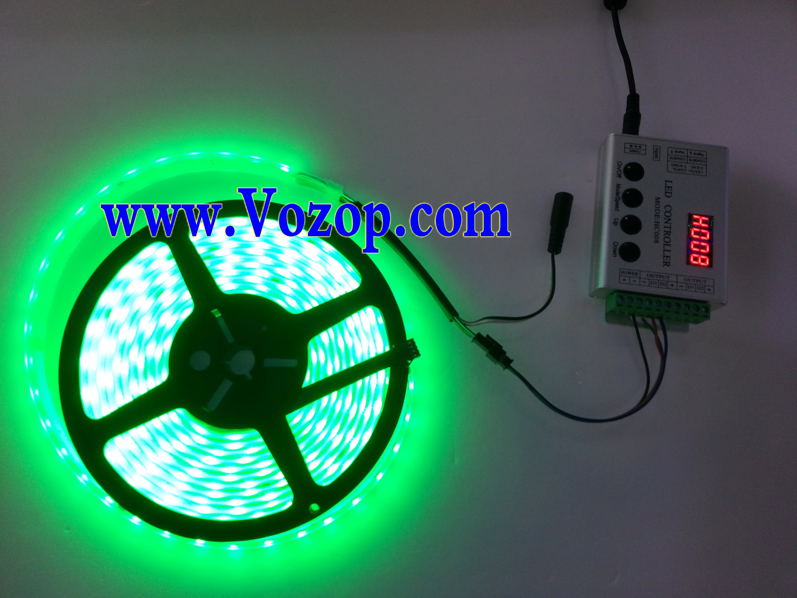 TM1812_RGB_5050_Digital_LED_tape_Strip_light_with_Controller