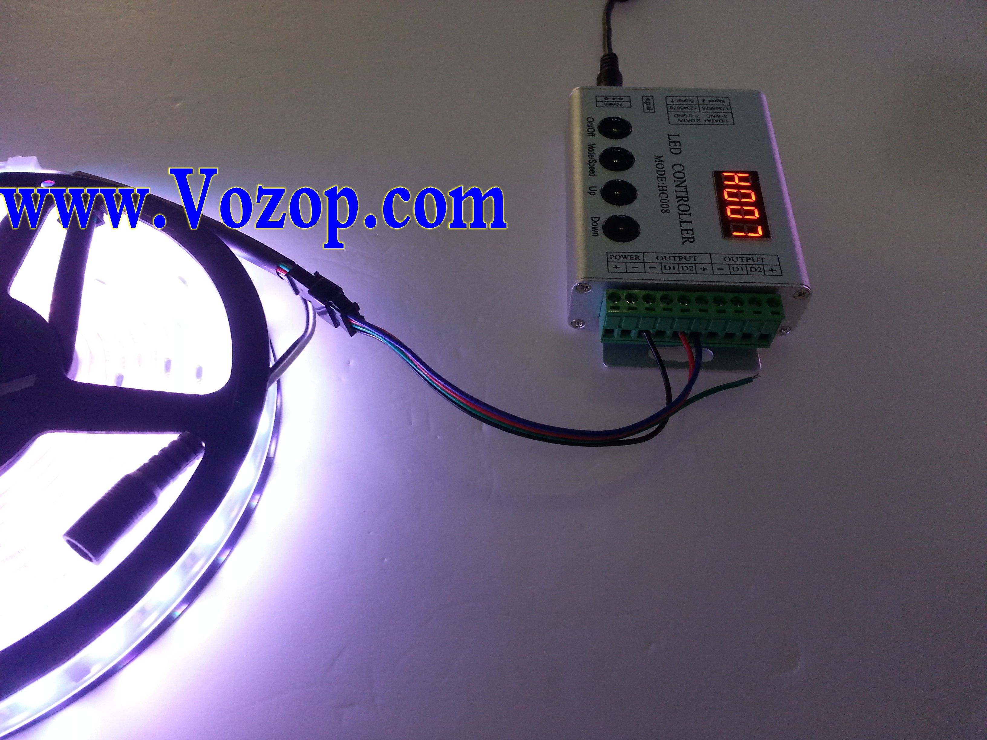 TM1812_RGB_5050_Digital_LED_tape_Strip_light_with_Controllers_wholesale