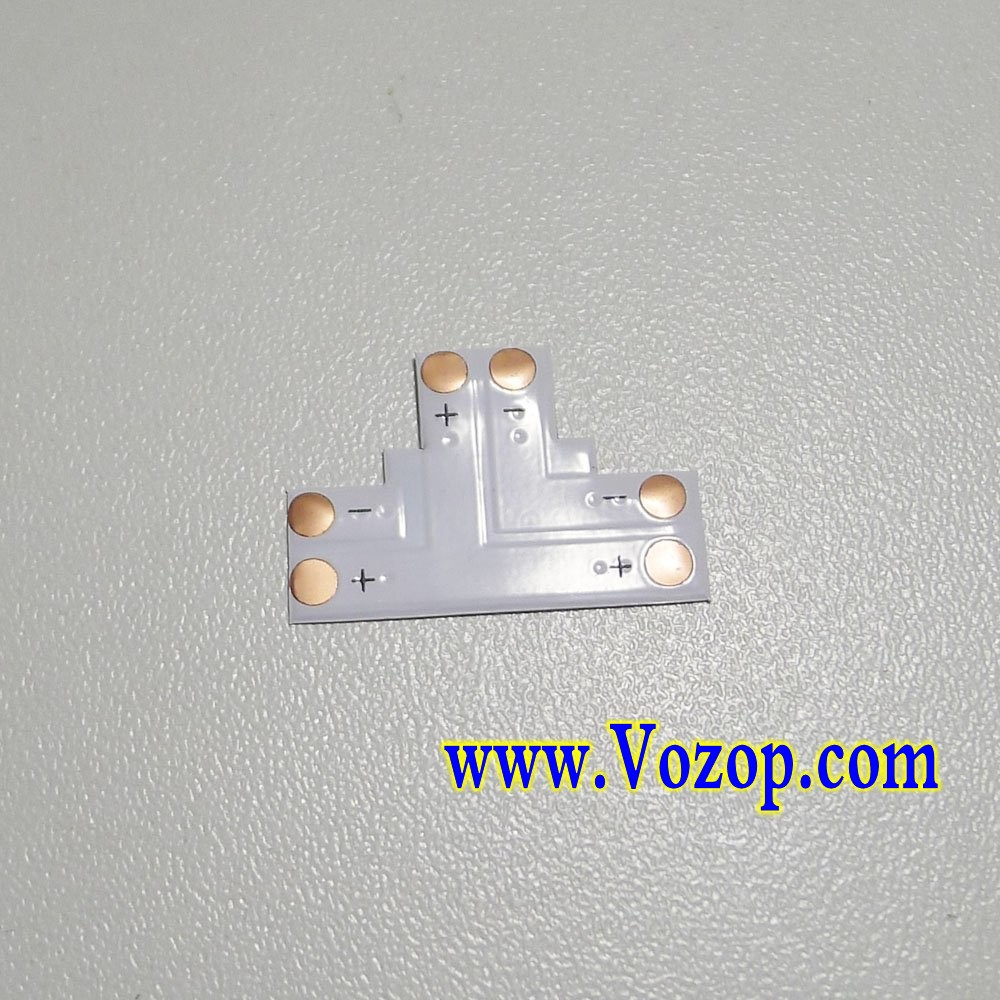 T_Shape_PINs_PCB_PFC_connector_for_8mm_Tape_Strip