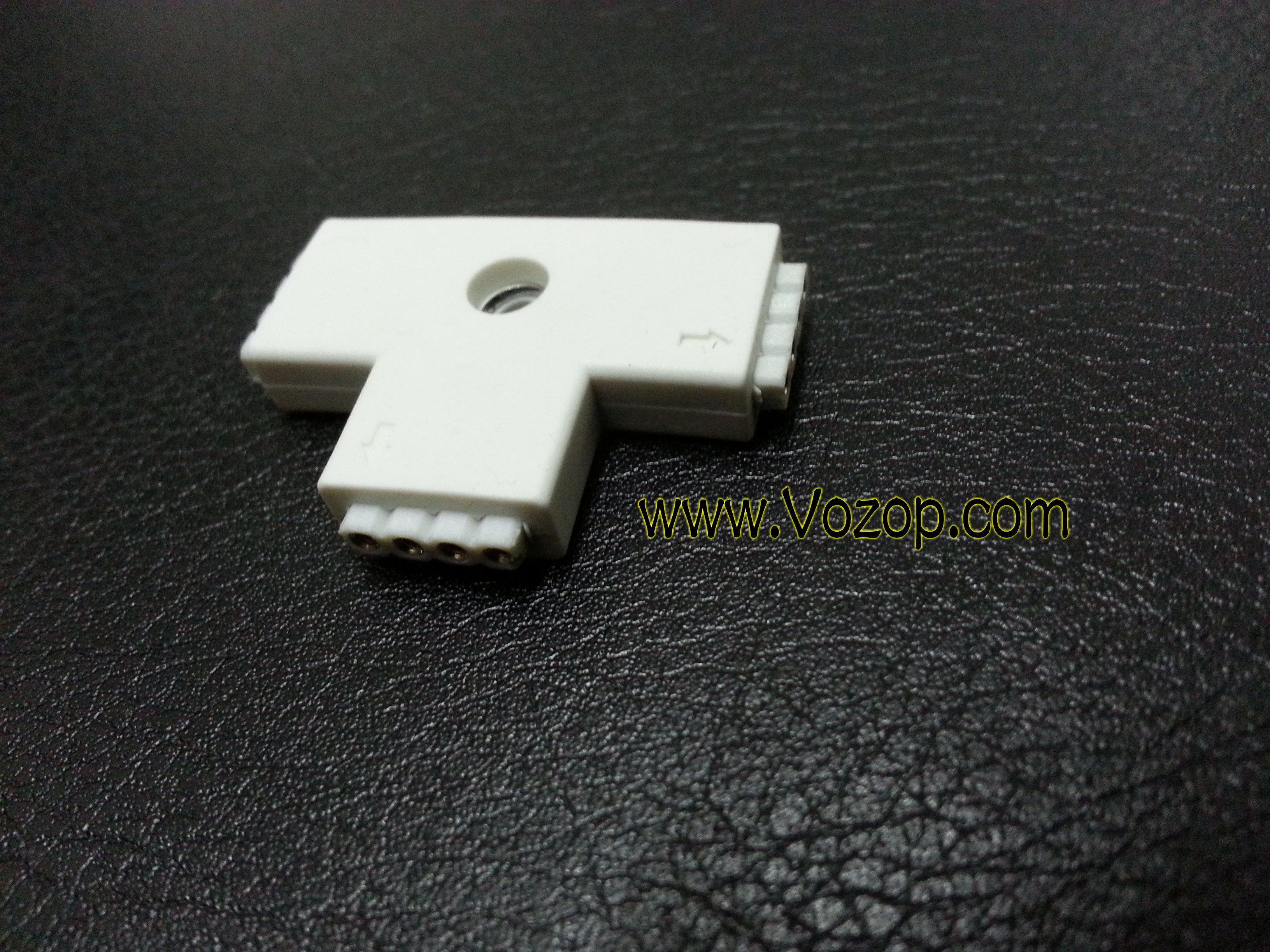 T_Type_Connector_4_Pin_For_5050_RGB_LED_Strip_Tape
