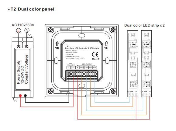 Touch_Panel_Dimming_LED_Controller_4CH_3A_3
