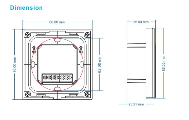 Touch_Panel_Dimming_LED_Controller_4CH_3A_4