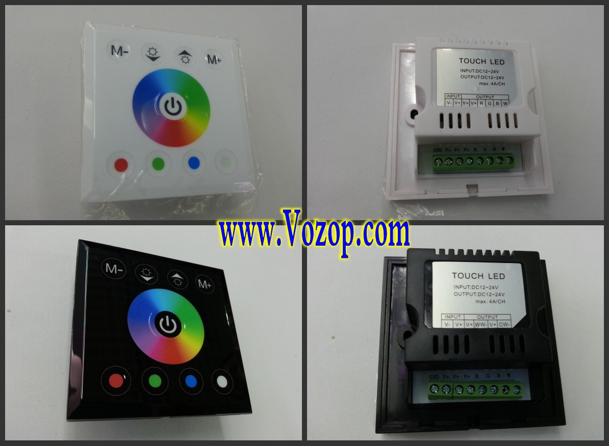 Touch_Panel_Full_Color_Dimmer_Controller_For_RGBW_RGB_Strip_12_24V_control