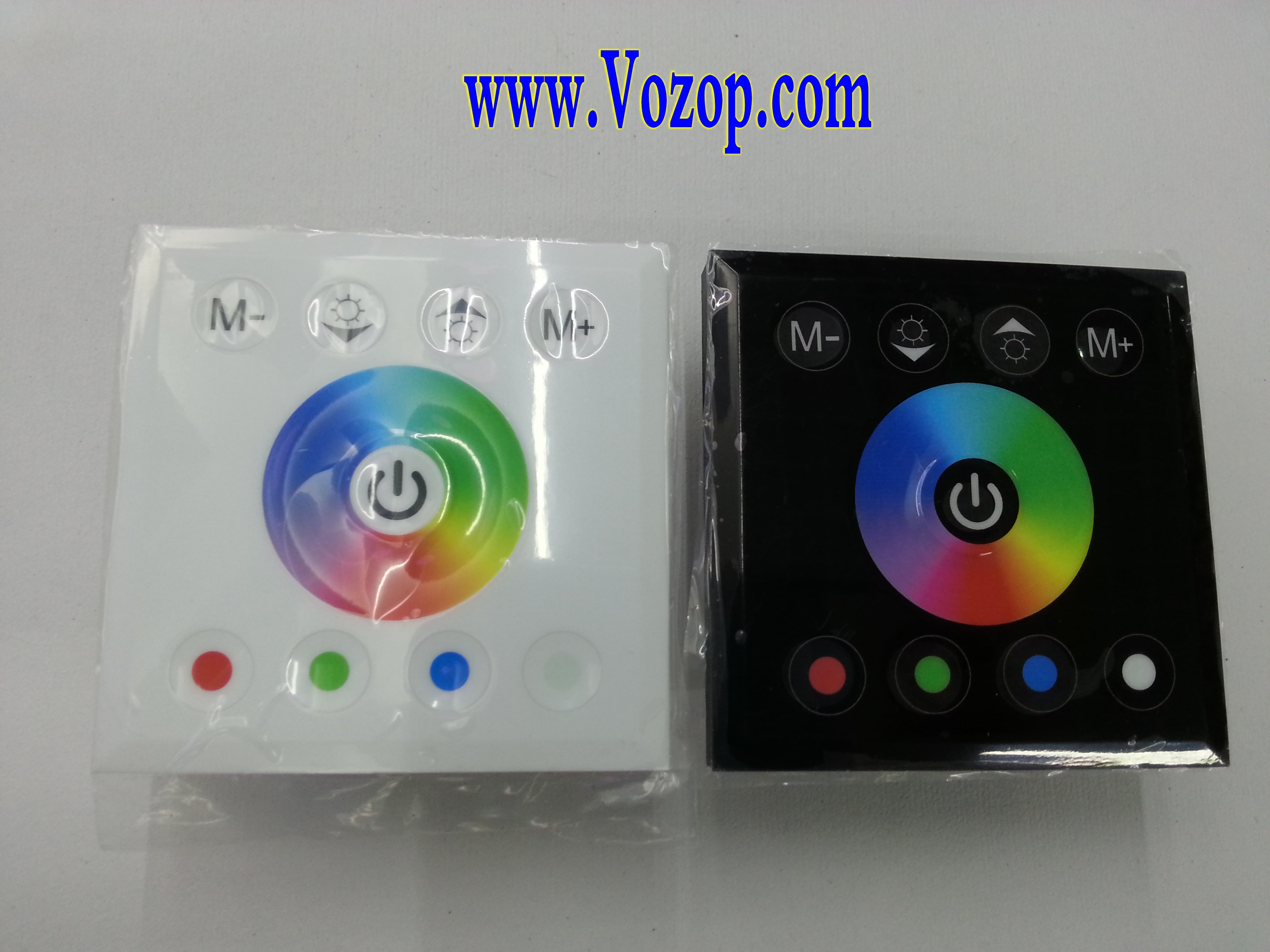 Touch_Panel_Full_Color_Dimmer_Controller_For_RGBW_RGB_Strip_12_24V_controls