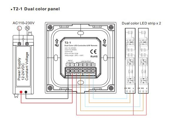 Touch_Panel_LED_Controller_4CH_3A_DC_3