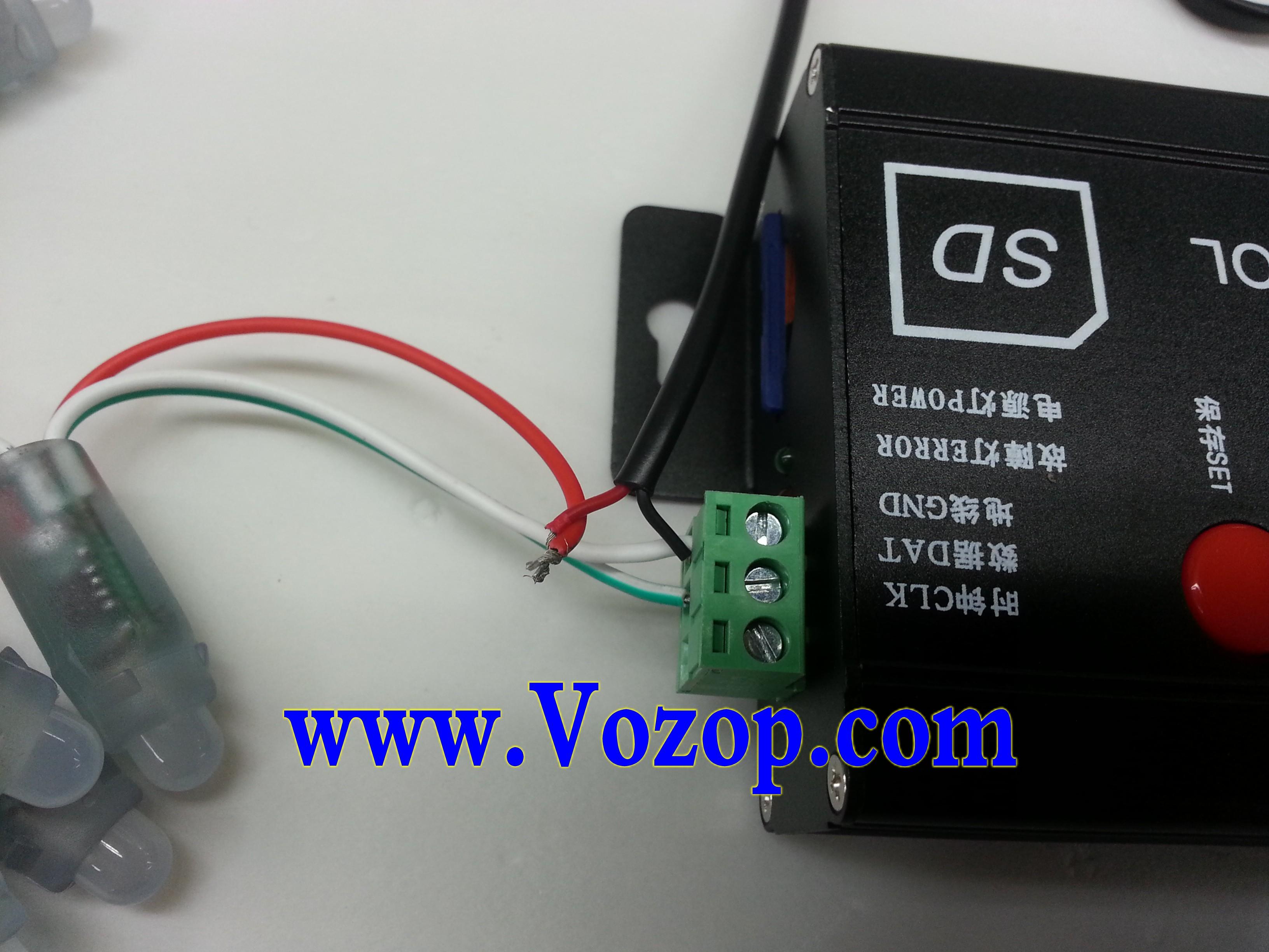 UCS_1903_LED_Module_DC_5V_Waterproof_RGB_LED_Pixel_Module_connection_project_1