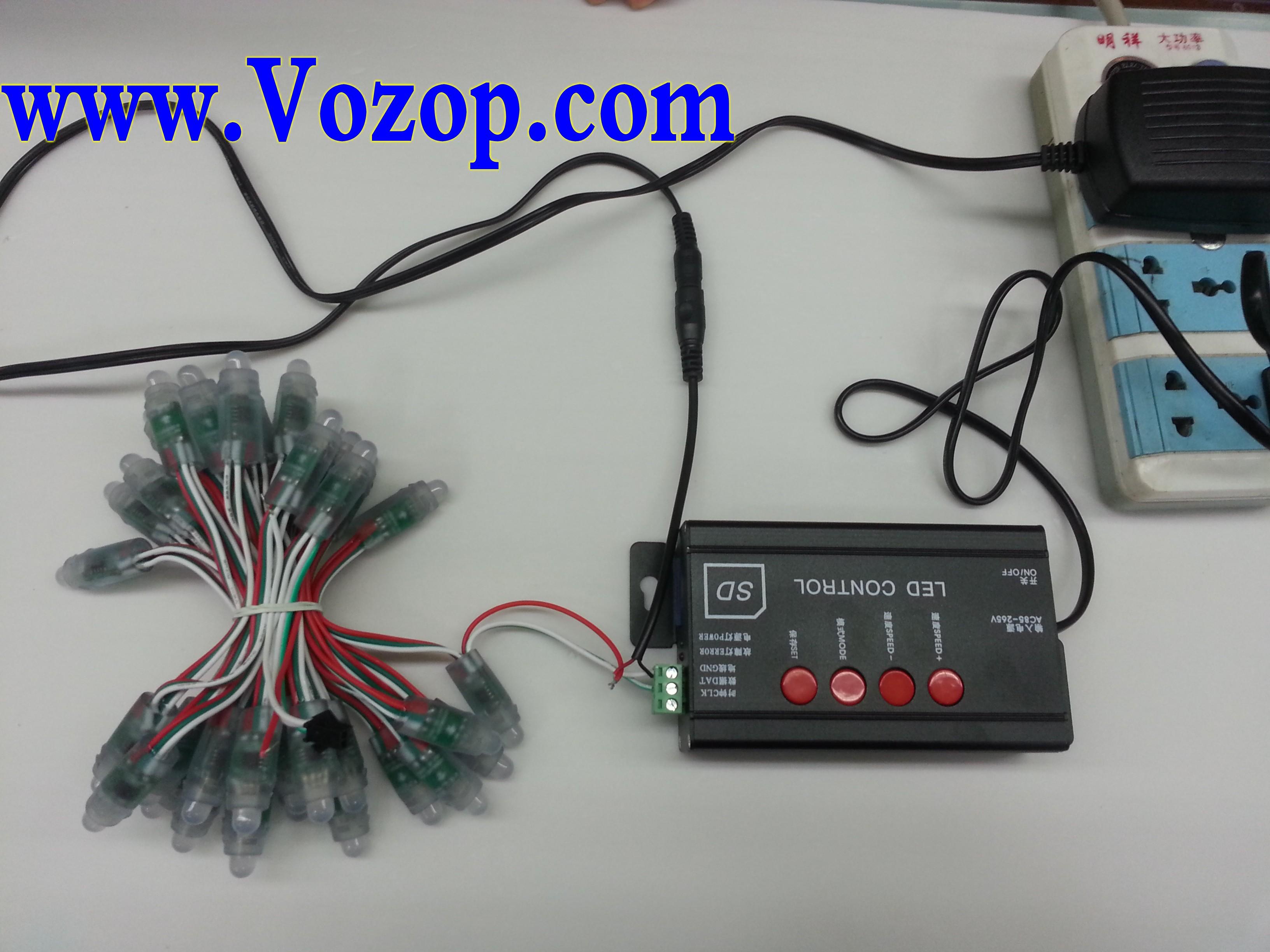 UCS_1903_LED_Module_DC_5V_Waterproof_RGB_LED_Pixel_Module_connection_project_12