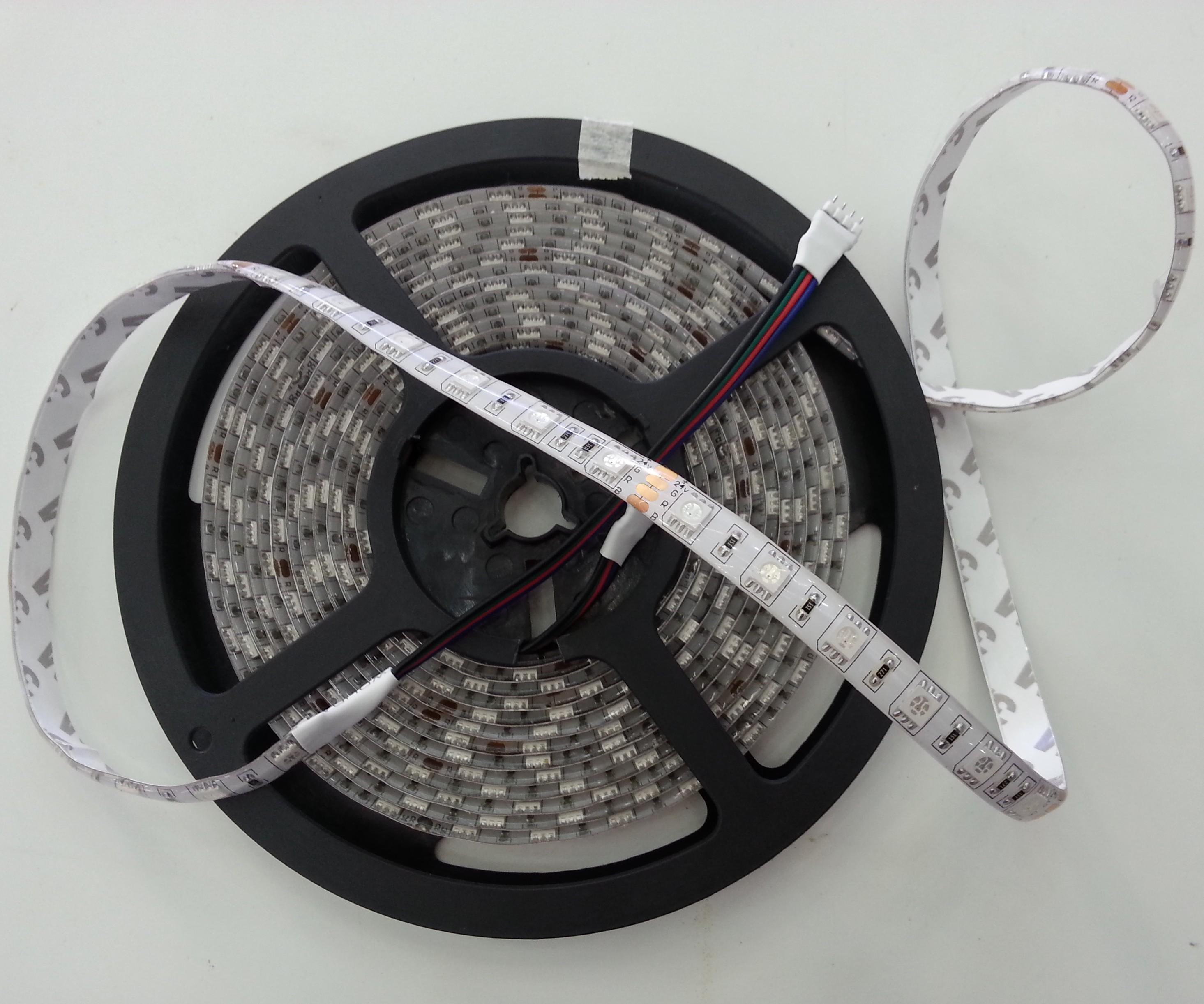 Ultra Bright Epistar Smd 5050 Rgb Led Strip 5m 300led Flex