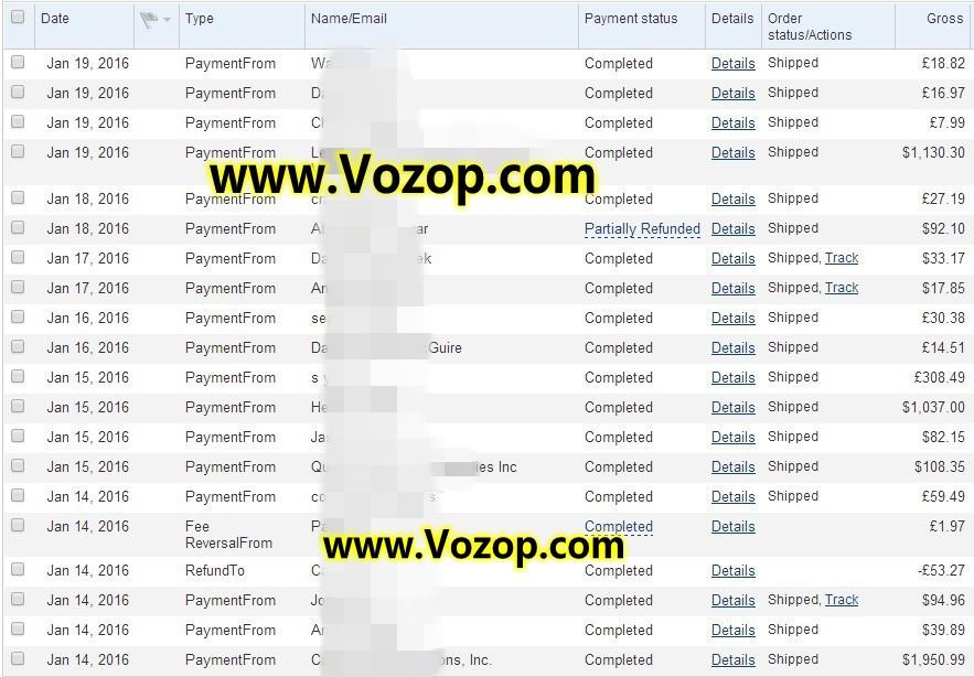Vozop_com_vozop_LED_store_online_safe_website_paypal_payment