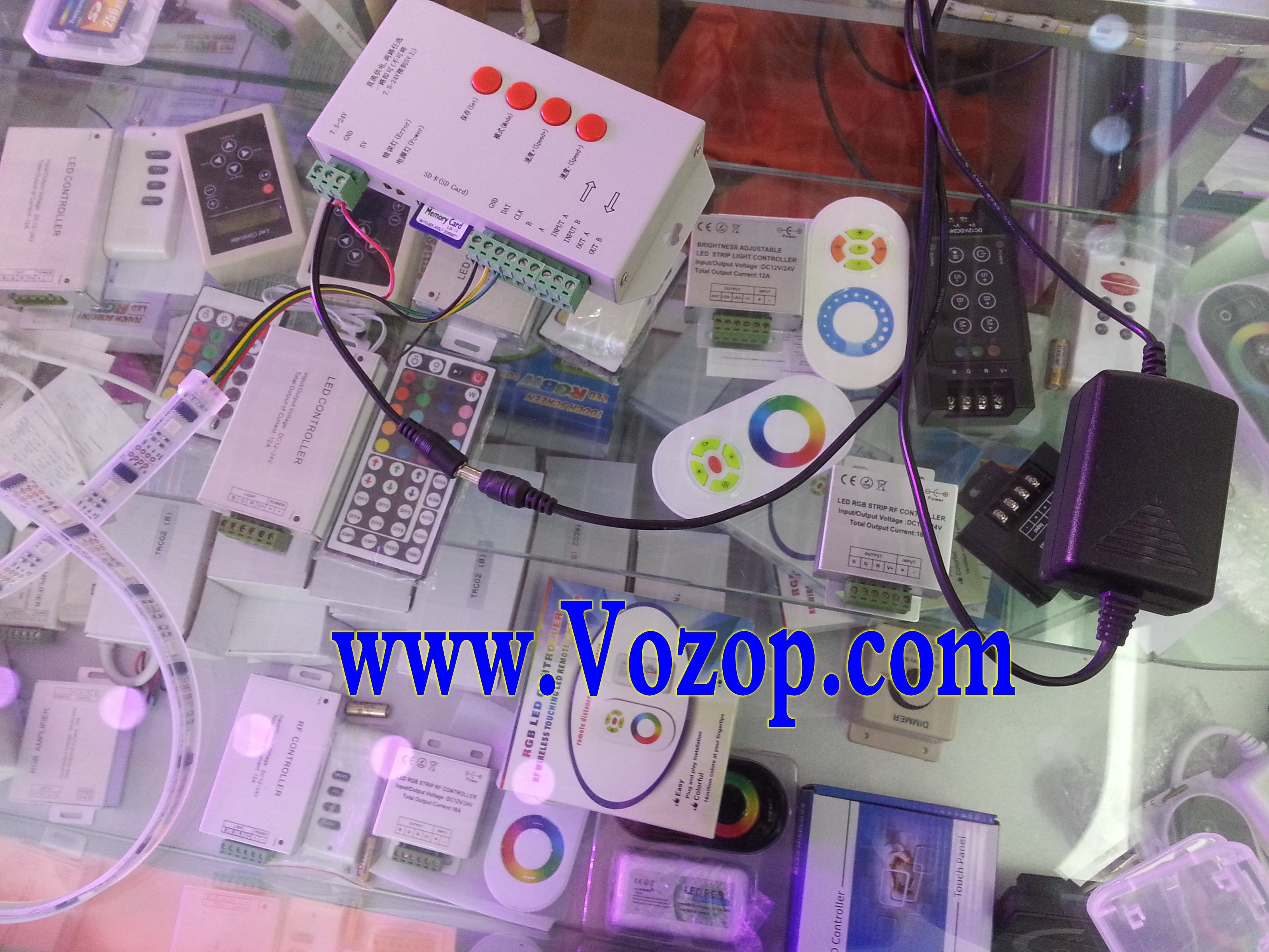 WS2801_Digital_Strip_5_Meters_16.4_Feet_DC_5V_Smart_LED_Tape_Ribbon_Rope_Lights