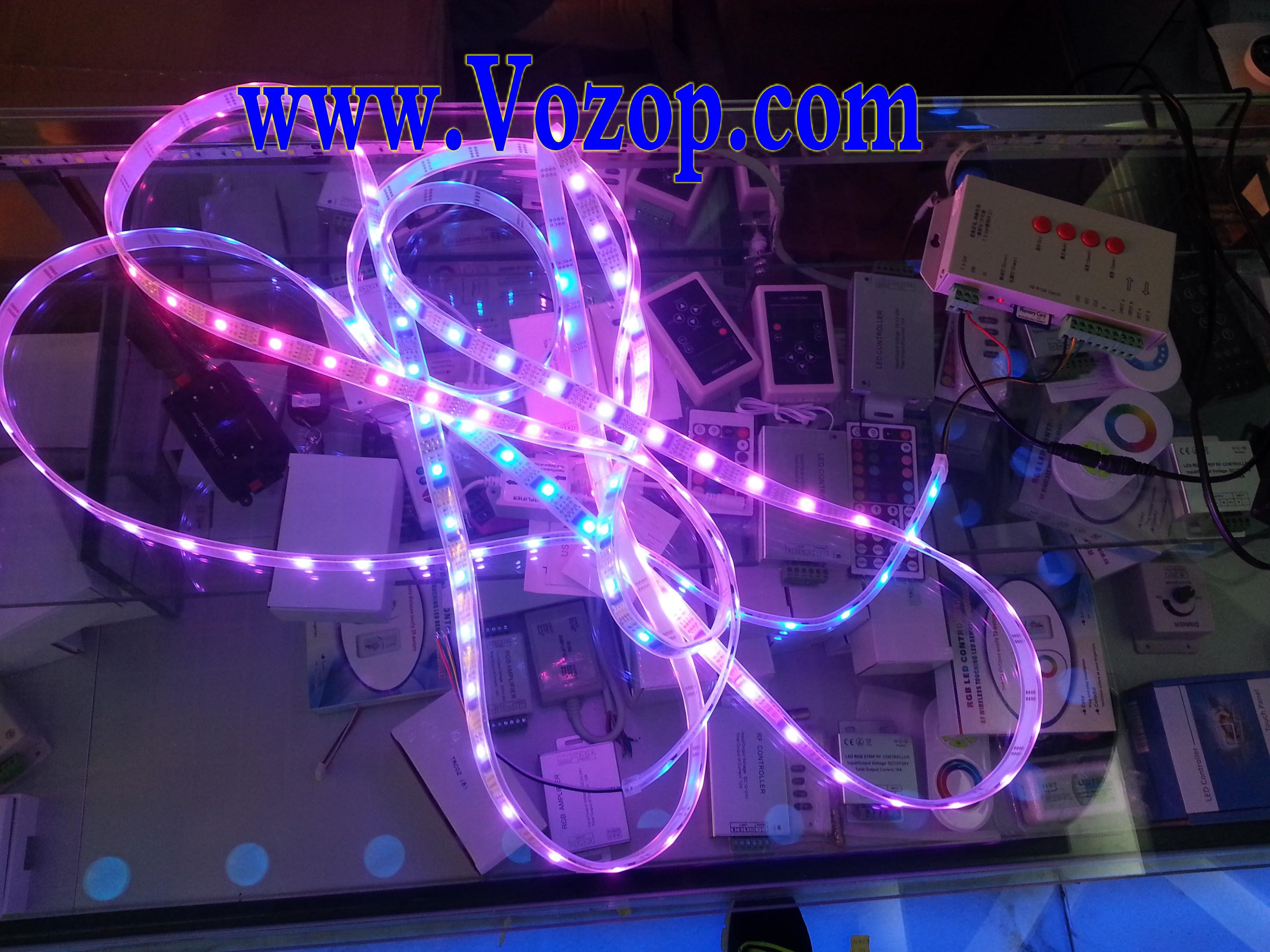 WS2801_Digital_Strip_5_Meters_16.4_Feet_DC_5V_Smart_LED_Tape_Ribbon_Rope_Lights_connection