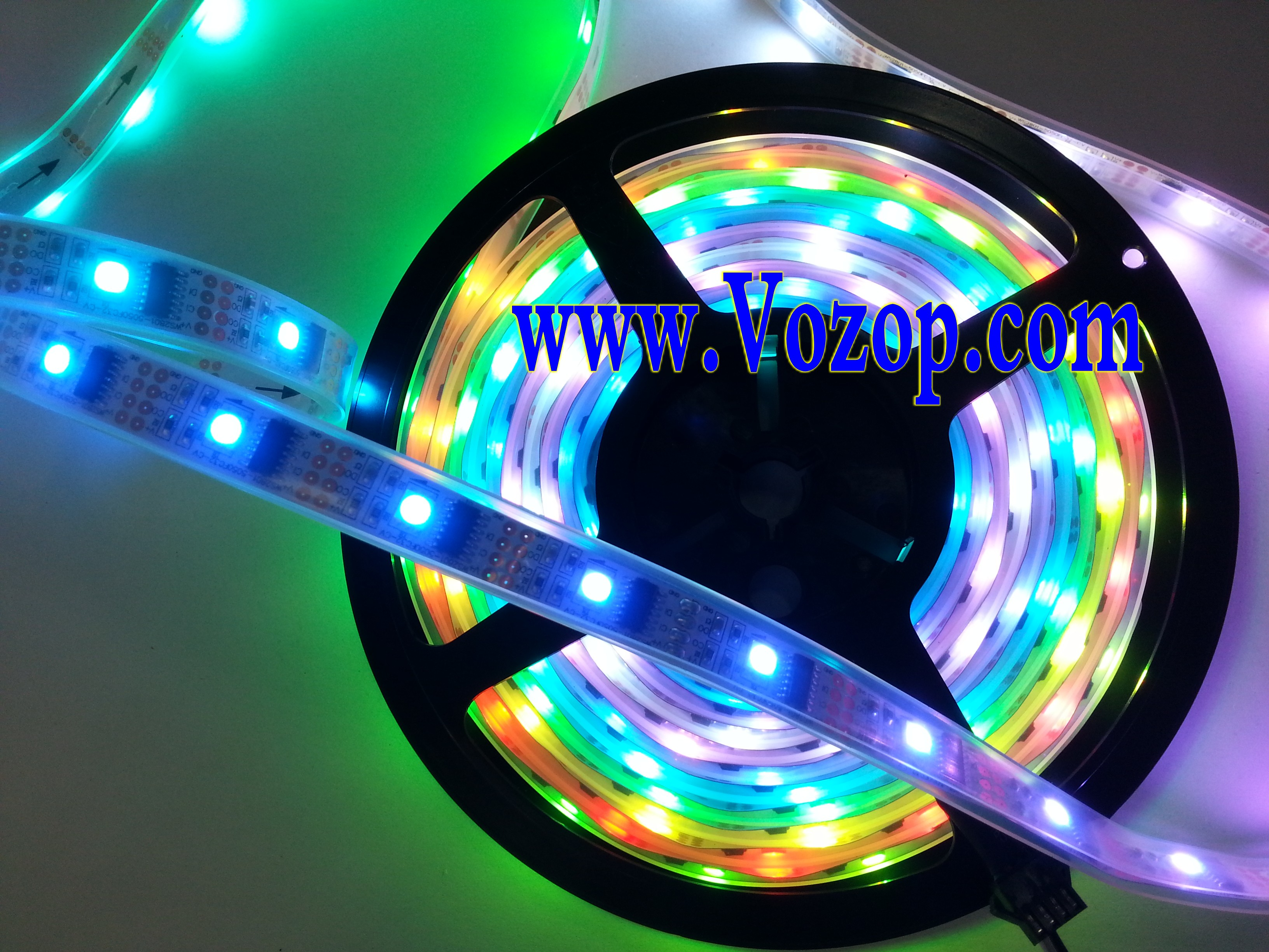 ws2801 rgb strip led pixel light individually addressable 5m 160led 5v led strips led. Black Bedroom Furniture Sets. Home Design Ideas