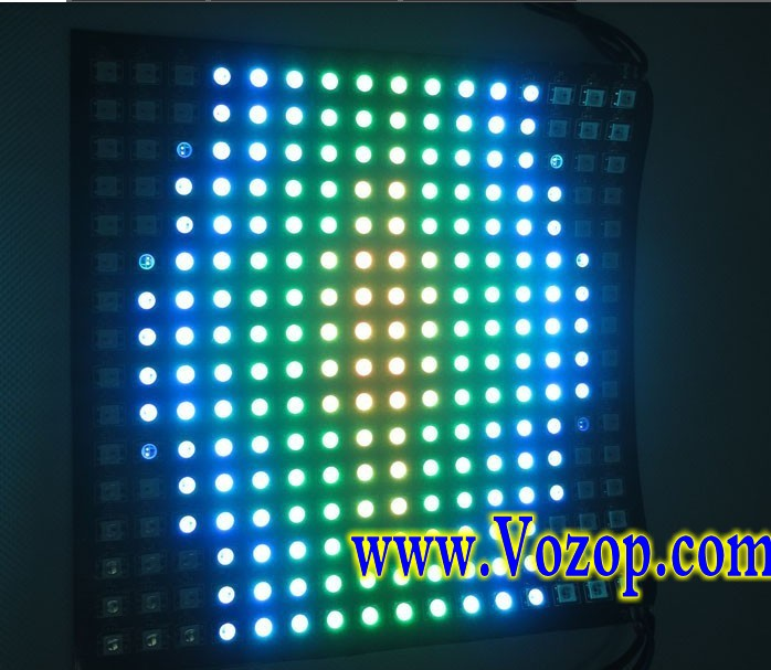 WS2812B_Addressable_LED_Panel_256_Pixels_Light