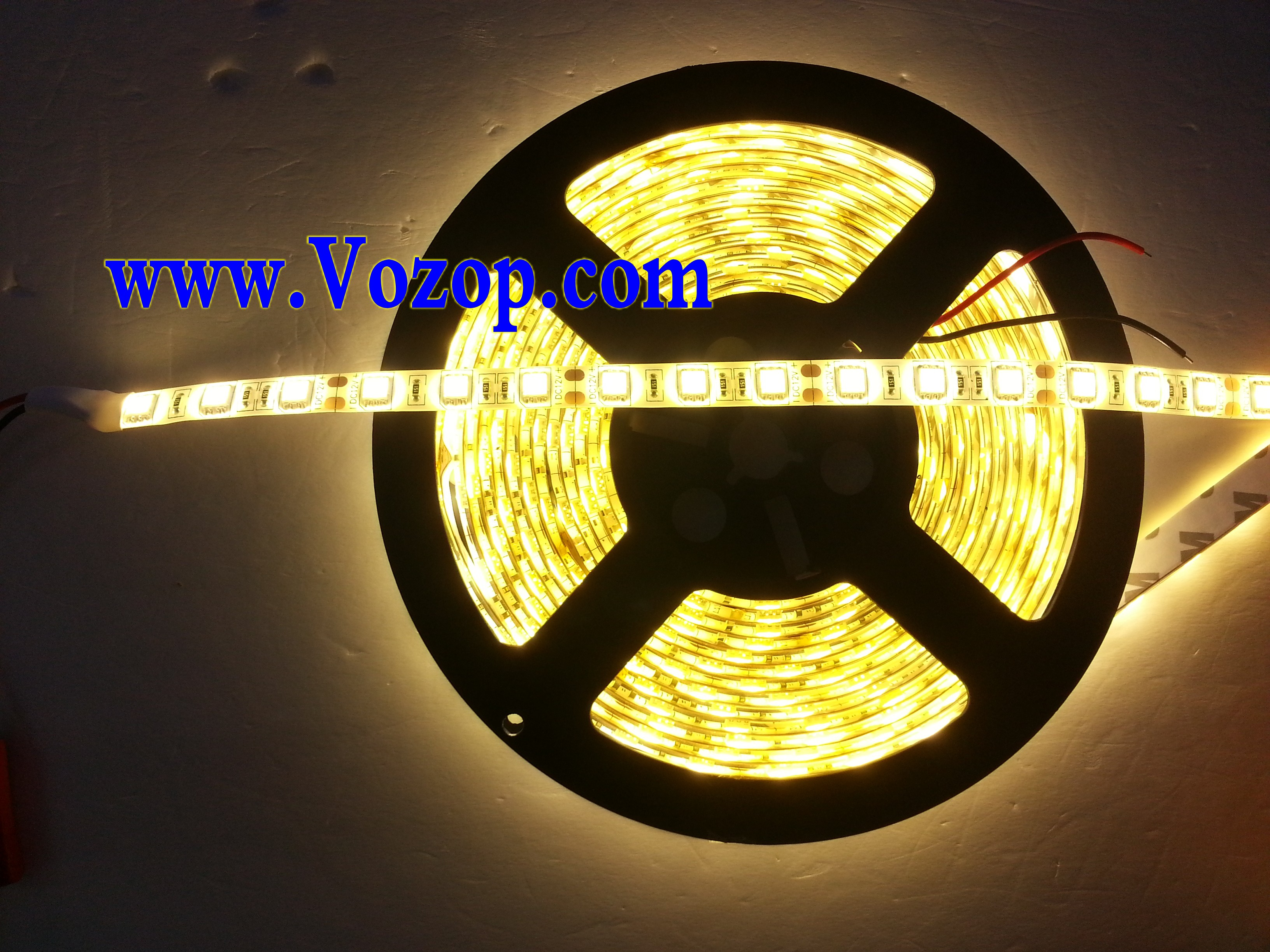 Warm_White_5050_SMD_LED_Flexible_Strip_light_ribbon