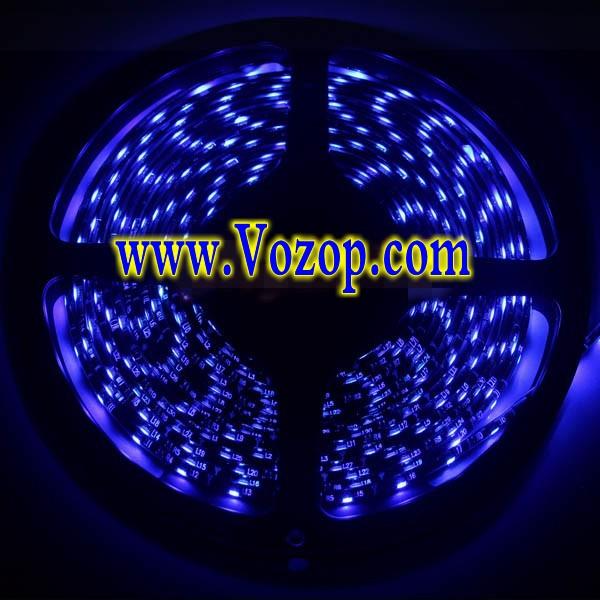 blue_Black PCB 3528_LED_Strip_Light_Waterproof_Flex_Tape_lighting_ribbon