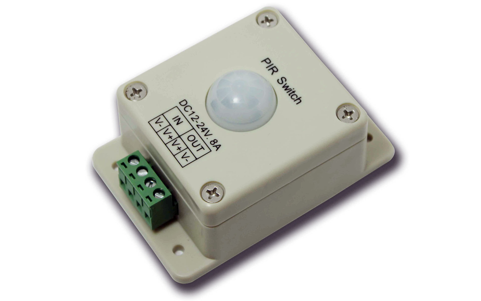 human_body_induction_switch_dimmer_infrared_detection_sensor_LED_controller