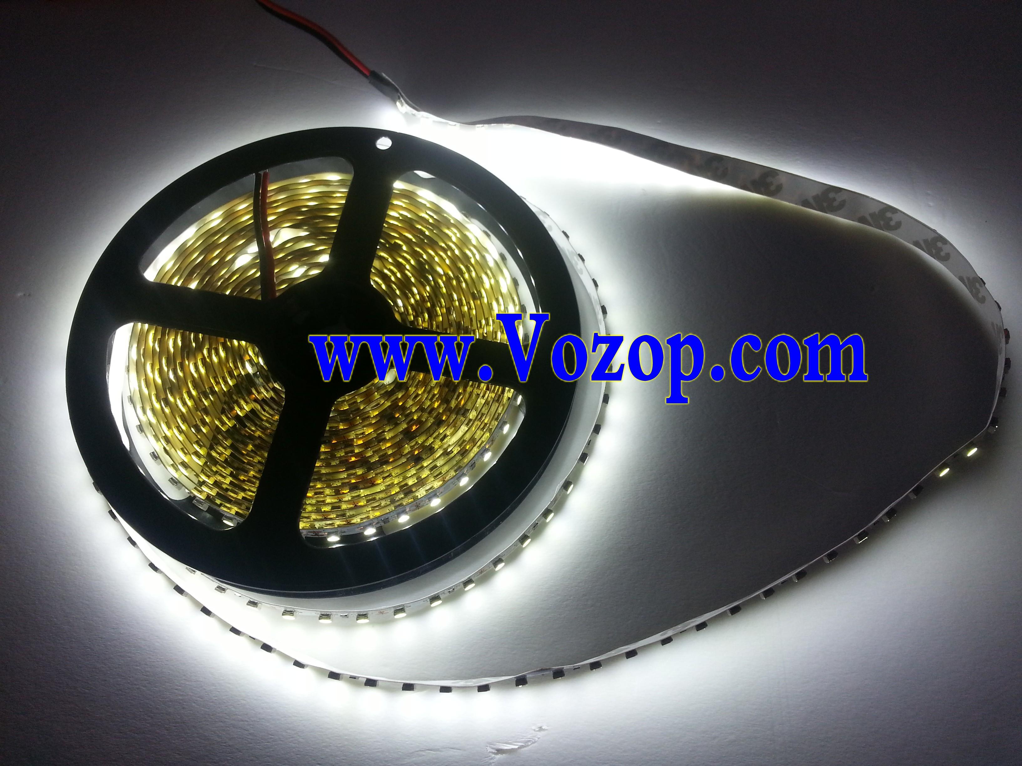 nature_White_3528_LED_Strip_light_5M_600_LEDs_Non_Waterproof_Light