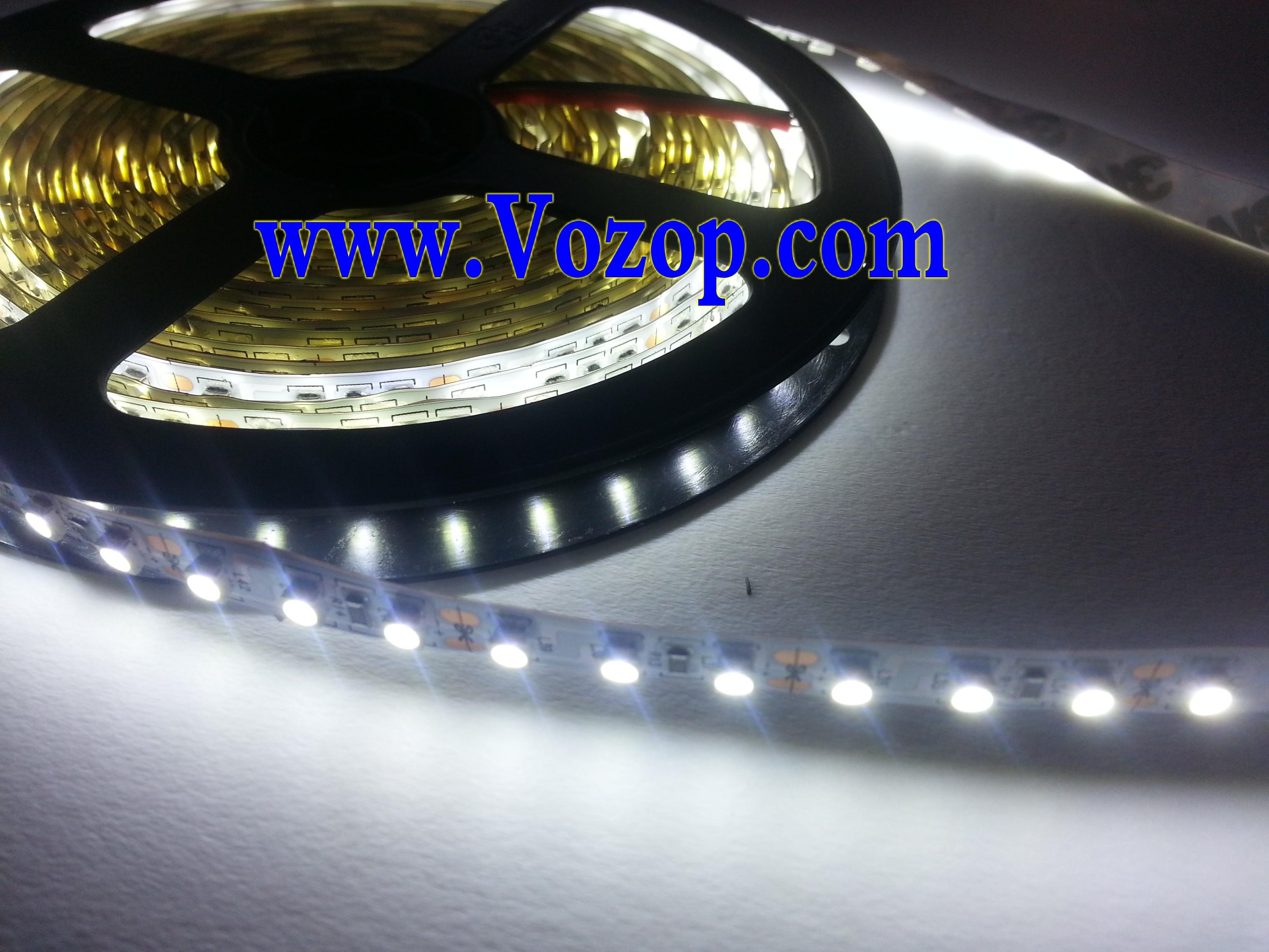 pure_White_3528_LED_Strip_light_5M_600_LEDs_Non_Waterproof_Light