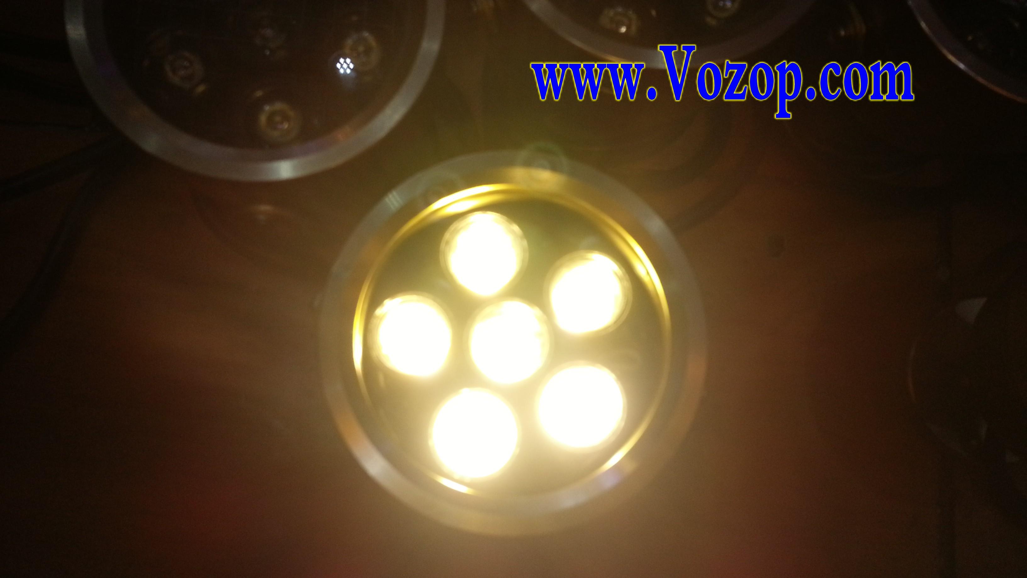 warm_white_6W_Project_Flood_Light_Garden_Lamp_Golden_Shell_floodlight