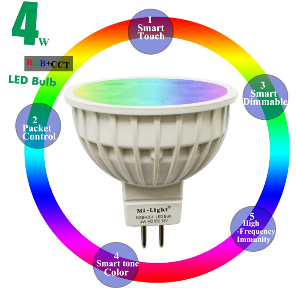 12V_24G_Wireless_Milight_Dimmable_MR16_6