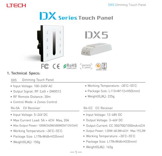 DX5_4_Zones_Control_1
