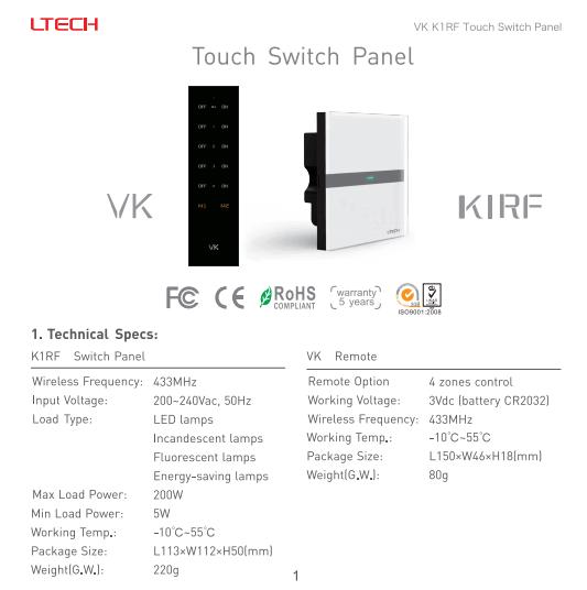 K1RF_Touch_Switch_Panel_LTECH_1