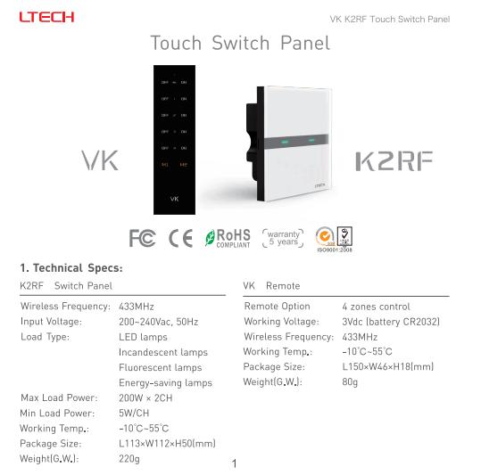 K2RF_Touch_Switch_Panel_LTECH_1