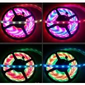 12V 5M Addressable LPD8806 Strip RGB 5050 36LED/M LED Light