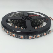 12V Pink SMD 5050 LED Strip Black FPCB 5M 300LED 60LED/m Flex Ribbon Light