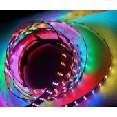 3 Rows TM1812 5050 RGB LED Strip 5M 720-LED Addressable Light