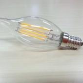 4W E12 E14 LED Filament Bulb Candelabra Spotlight Lighting Candle Lamp
