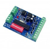 6CH Easy DMX512 Controller Decoder DC5V-24V WS-DMX-6CH-BAN-V3