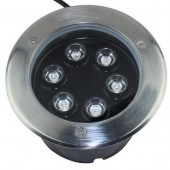 6W LED Underground Light High Power Buried Landscape Ground Lamp