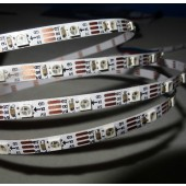 Addressable 2M 60LEDs/m 5V SK6812 Mini 3535 LED Pixel Strip Light WHITE PCB