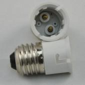 B22 Socket LED Base Holder E27 to B22 Adapter Converter 10pcs