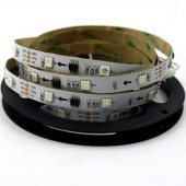 DC 12V WS2811 10ICs/M 30LEDs/M Addressable RGB LED Strip 5M