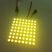 DC 5V 64LEDs Pixels WS2811 5050 RGB Full Color LED Pixel Panel Light