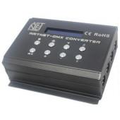 DMX400 ARTNET-SD DMX Converter Artnet Signal Input Andard DMX512 Signal*4 Channels Outpu