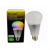 FUT012 9W E27 2700K 6500K RGB+CCT LED Light Bulb Mi.Light