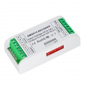4CH Mini DMX512 LED Controller DMX Decoder Console 12V-24V