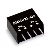 Mean Well SMU02 2W DC-DC Unregulated Single Output Converter Power Supply
