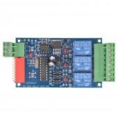 3CH Relay Controller DMX512 Decoder Module Dump Node WS-DMX-RELAY-3CH-BAN