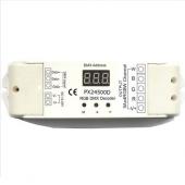 PX24500D DMX512 12V 24V 4 Channels Constant Voltage Decoder Euchips Controller