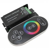 RF Touch Color Wheel Deluxe Remote RGB LED Controller 12V 24V