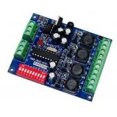 DC 5-36V 4CH RGBW DMX Controller DMX512 Decoder WS-DMX-HLB-4CH-700MA