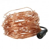 10M/20M/30M/50M Led Silver Copper Wire String Fairy Starry Lights