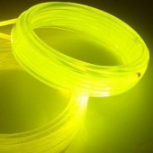 12mm Flexible Solid Core Side Glow Light Plastic Fiber Optic Cable 100 Meters